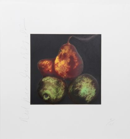 Sérigraphie Sultan - Red Pears