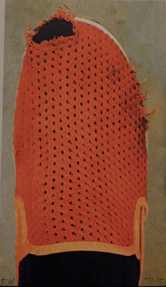 Lithographie Baldessari - Red Slipper