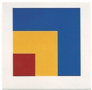 Lithographie Kelly - Red/Yellow/Blue