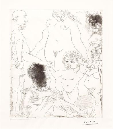 Pointe-Sèche Picasso - Reflexion du Peintre sur la Vie