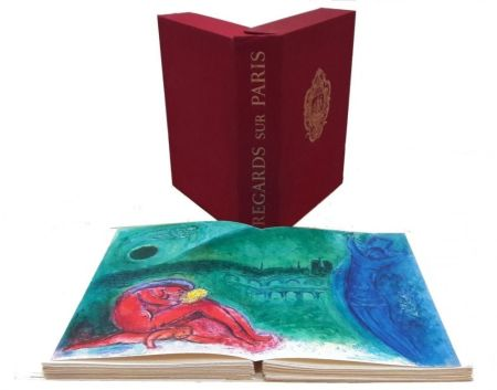 Livre Illustré Chagall - Regard Sur Paris