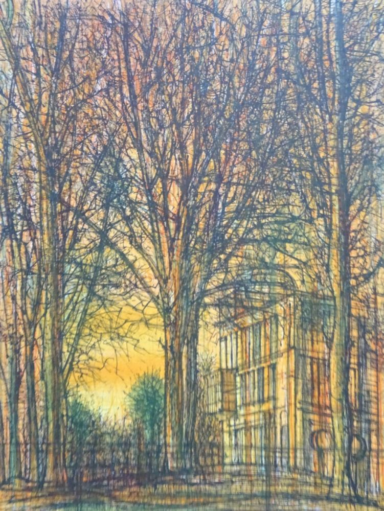 Lithographie Carzou - Regards sur Paris 2