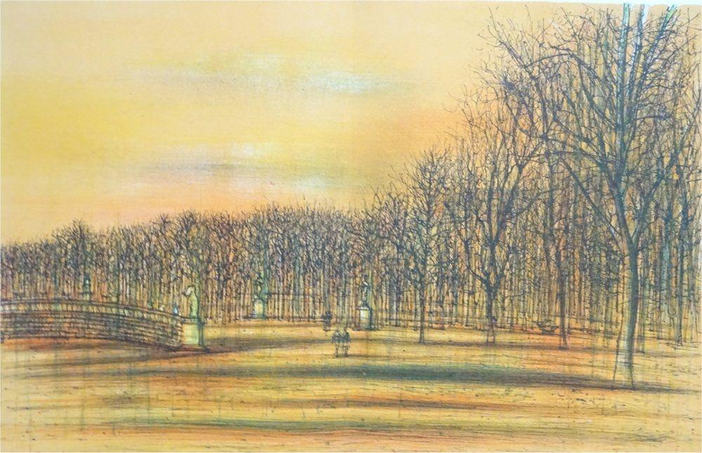 Lithographie Carzou - Regards sur Paris 3