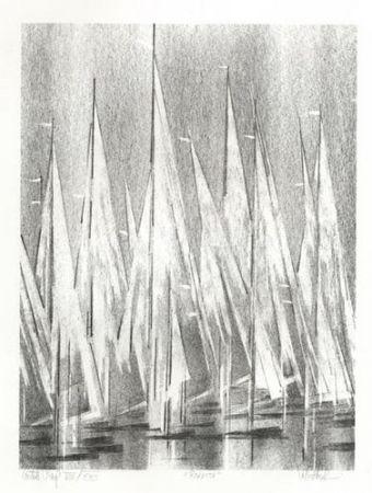 Lithographie Florsheim - Regatta