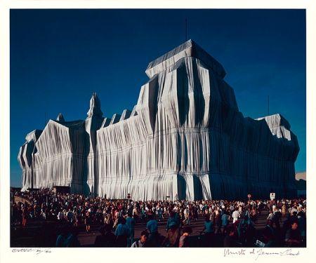 Photographie Christo - Reichstag Mappe I, 16 Uhr