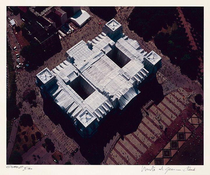 Photographie Christo - Reichstag Mappe II, Dach