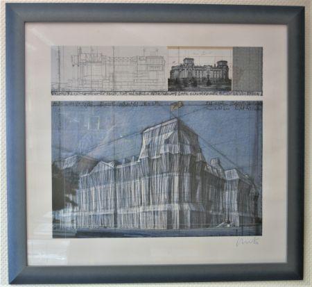 Estampe Numérique Christo & Jeanne-Claude - Reichstag verhüllt