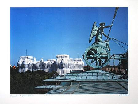 Photographie Christo - Reichstag/Berlin I Wrapped