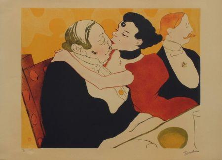 Lithographie Toulouse-Lautrec - Reine de joie