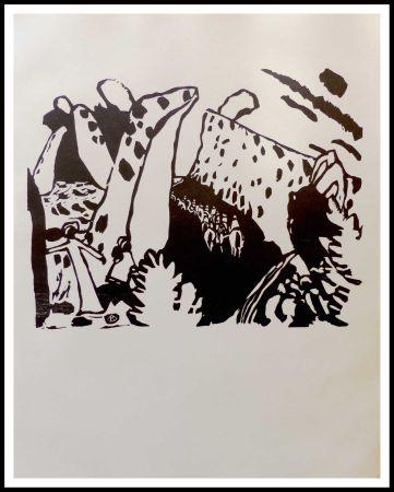 Gravure Sur Bois Kandinsky - REITERWEG