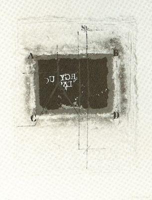 Gravure Coignard - Remarque Verte 642