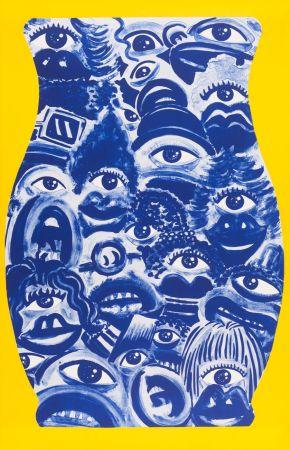 Lithographie Di Rosa - René Azulejos
