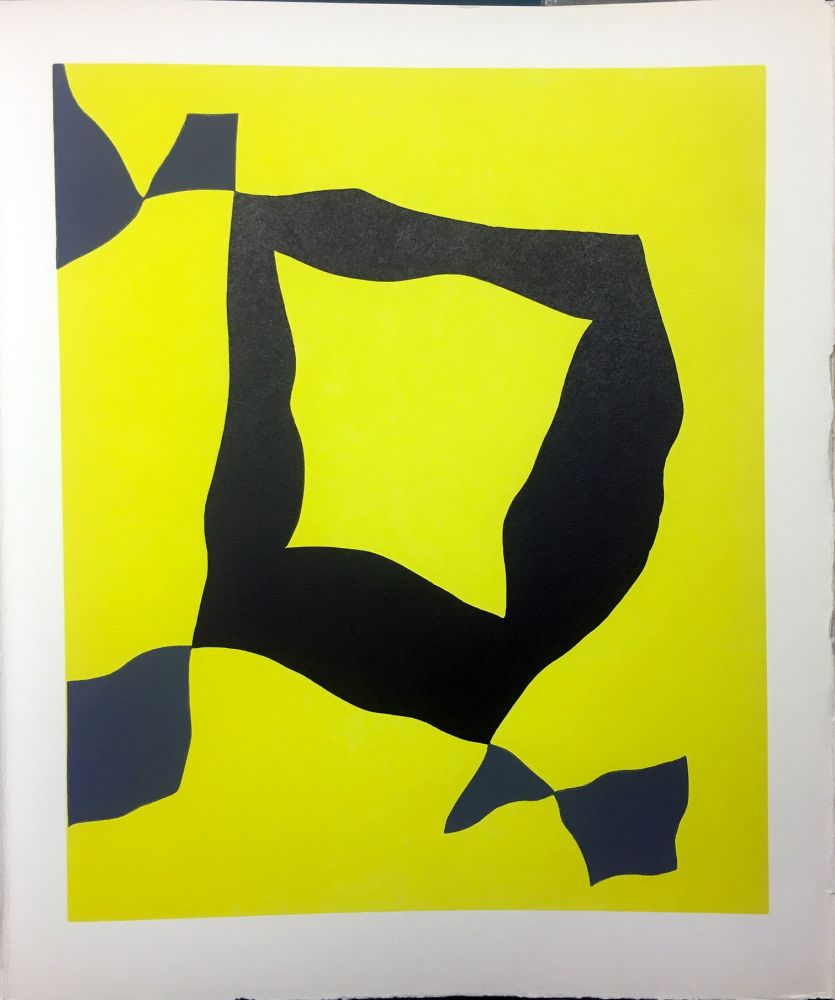 Livre Illustré Arp - René Crevel : FEUILLES ÉPARSES (Avec 14 gravures de Giacometti, Ernst, Man Ray, Miró, Masson, etc.). 1965.