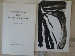 Livre Illustré Van Velde - Rencontres avec Bram Van Velde