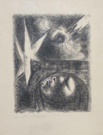 Lithographie Masson - Resurrection