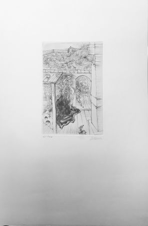Eau-Forte Bellmer - Retable (1971)