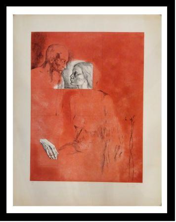 Gravure Gudiol - Retrato