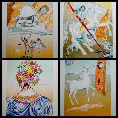 Lithographie Dali - Retrospective Complete Suite