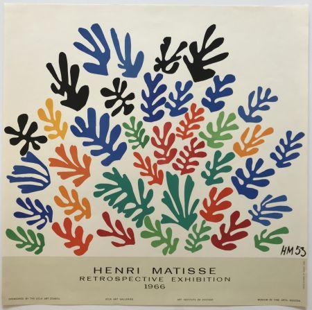 Affiche Matisse - Retrospective Exhibition