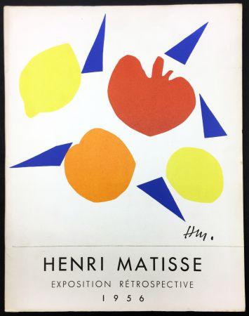 Livre Illustré Matisse - RETROSPECTIVE MATISSE 28 Juillet - 18 Novembre 1956 (Catalogue).