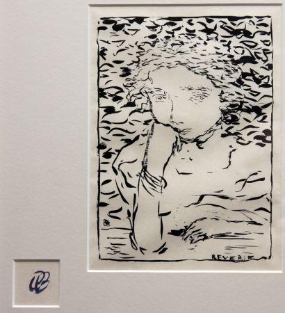 Lithographie Bonnard - Reverie