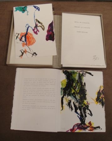Lithographie En Joong - Reves de couleurs