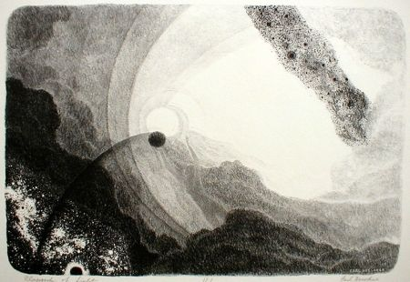 Lithographie Hoeckner - Rhapsody of Light