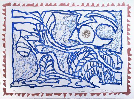 Gravure Alechinsky - Rhizomes