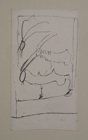 Gravure Beuys - Riesenziegen