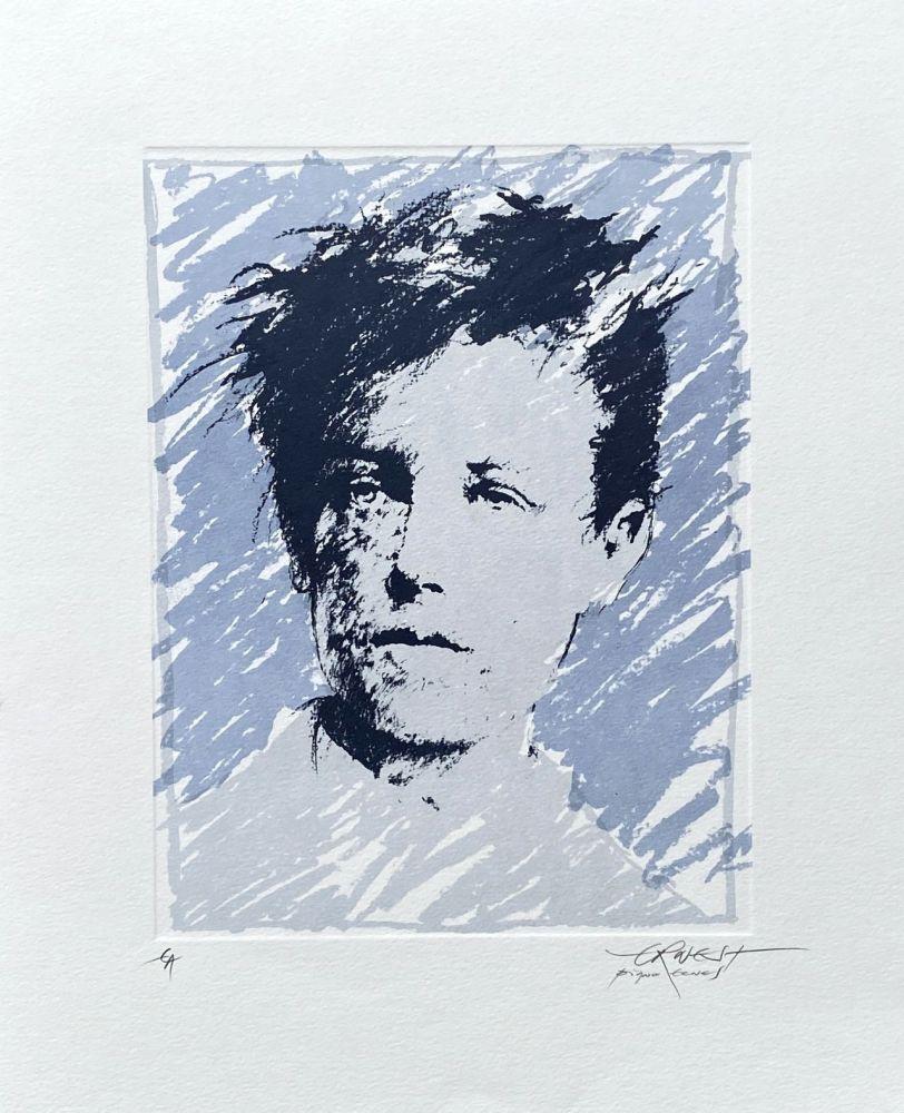 Lithographie Pignon-Ernest - Rimbaud