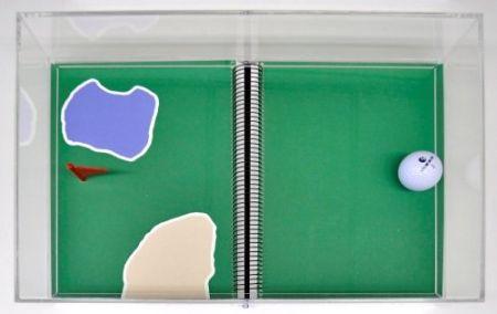Lithographie Leirner - Rio 2016 - Golf