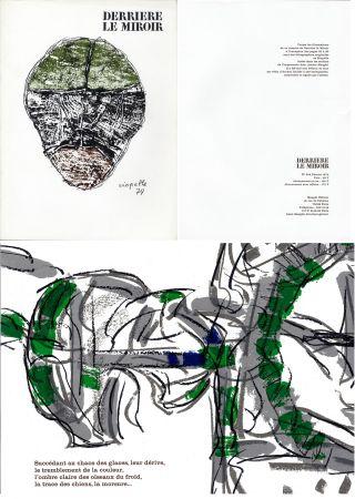 Livre Illustré Riopelle - RIOPELLE - ROI DE THULÉ. Derrière le Miroir n° 208. 12 LITHOGRAPHIES ORIGINALES (1974).