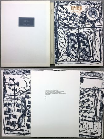 Livre Illustré Riopelle - RIOPELLE. DERRIÈRE LE MIROIR N° 232. Janvier 1979. TIRAGE DE LUXE SUR ARCHES.