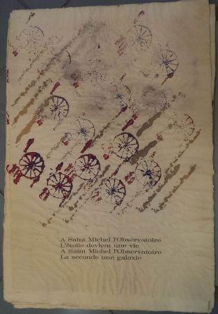 Lithographie Arman - RITOURNELLE pour SAINT MICHEL L'OBSERVATOIRE