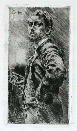 Gravure Conconi - RITRATTO DI LUIGI ARRIGONI (Portrait of Luigi Arrigoni)