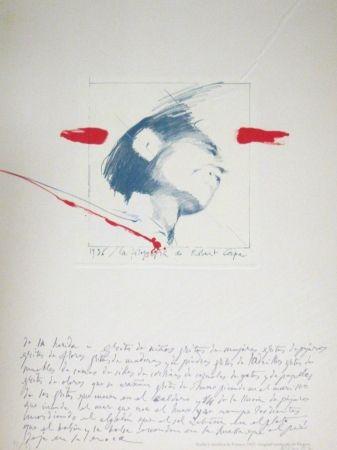 Lithographie Bru - Robert Capa