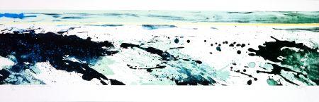 Lithographie Stholl - Roches & roll à contre vague 2