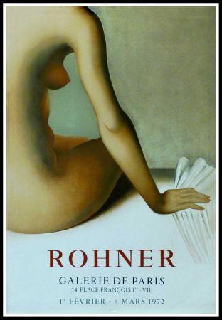 Affiche Rohner - ROHNER - GALERIE DE PARIS