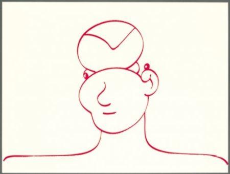 Lithographie Macías - Rojo 3