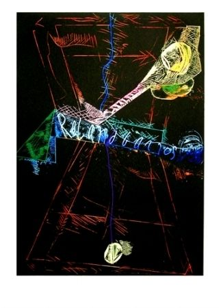 Eau-Forte Et Aquatinte Telemaque - Roland Garros II