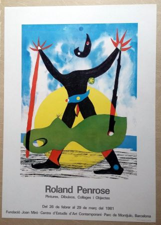 Affiche Penrose - Roland Penrose - Pintures, dibuixos, Collages i objectes