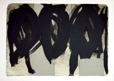 Lithographie Péneau - Rolling Head