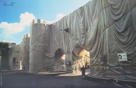 Offset Christo - Roman Wall wrapped