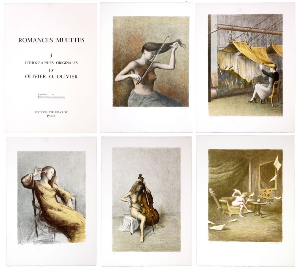 Lithographie Olivier O - Romances Muettes
