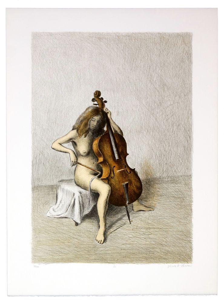 Lithographie Olivier O - Romances Muettes (Chanson bègues)