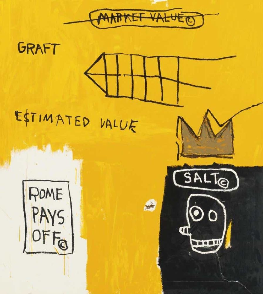 Multiple Basquiat - Rome pays off