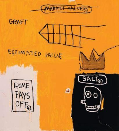 Sérigraphie Basquiat - Rome Pays Off