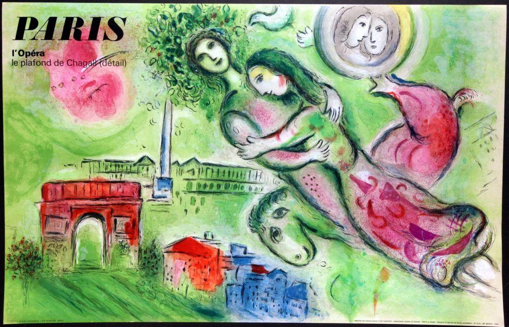 Affiche Chagall - Romeo et Juliette – Opera Paris