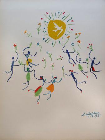 Lithographie Picasso - Ronde de la jeunesse (The Youth Circle)