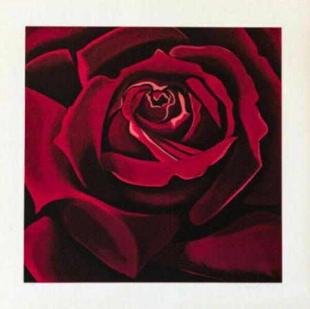 Sérigraphie Nesbitt - Rose